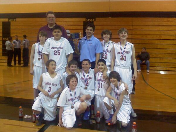 2012 Justice Oglesby Basketball